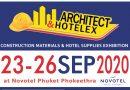 Architect & Hotelex2020 วันที่ 23-26 กันยายน 2563 ณ โรงแรมโนโวเทล ภูเก็ต โภคีธรา