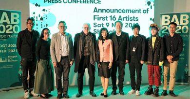 """บางกอก อาร์ต เบียนนาเล่ 2020 ประกาศรายชื่อศิลปินกลุ่มแรกที่เซี่ยงไฮ้  """"อนิช คาพัวร์"""" นำทัพค้นหา """"Escape Routes"""""""