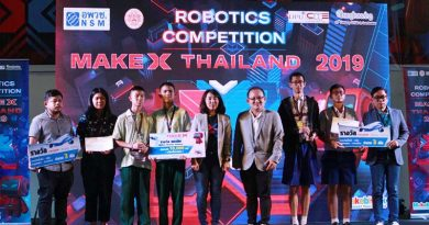 ทีมมัธยมปลูกปัญญา ชนะเลิศระดับประเทศ เป็นตัวแทนแข่ง MakeX World Championship ที่จีน